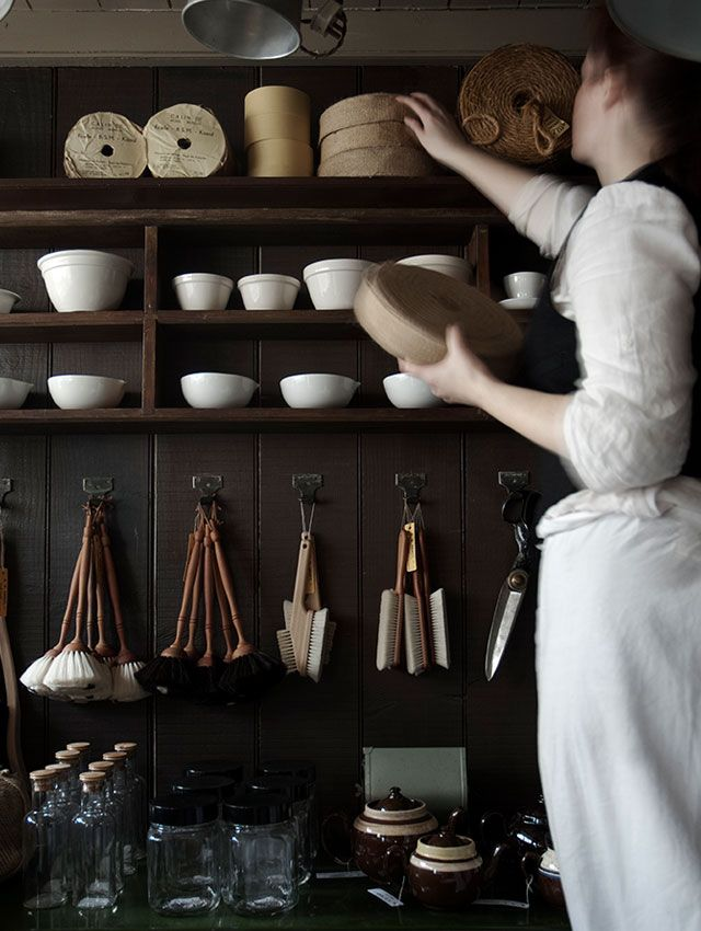 rustic homewares and open shelves homewares shop store interiors at home store on zero waste kitchen interior id=85651