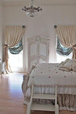 love these window treatments