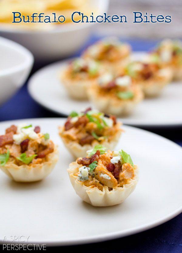Easy Buffalo Chicken Bites | Recipe | Buffalo chicken ...