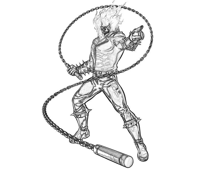 Ghost Rider Coloring Pages Avengers Coloring Pages Ghost Rider Marvel Avengers Coloring