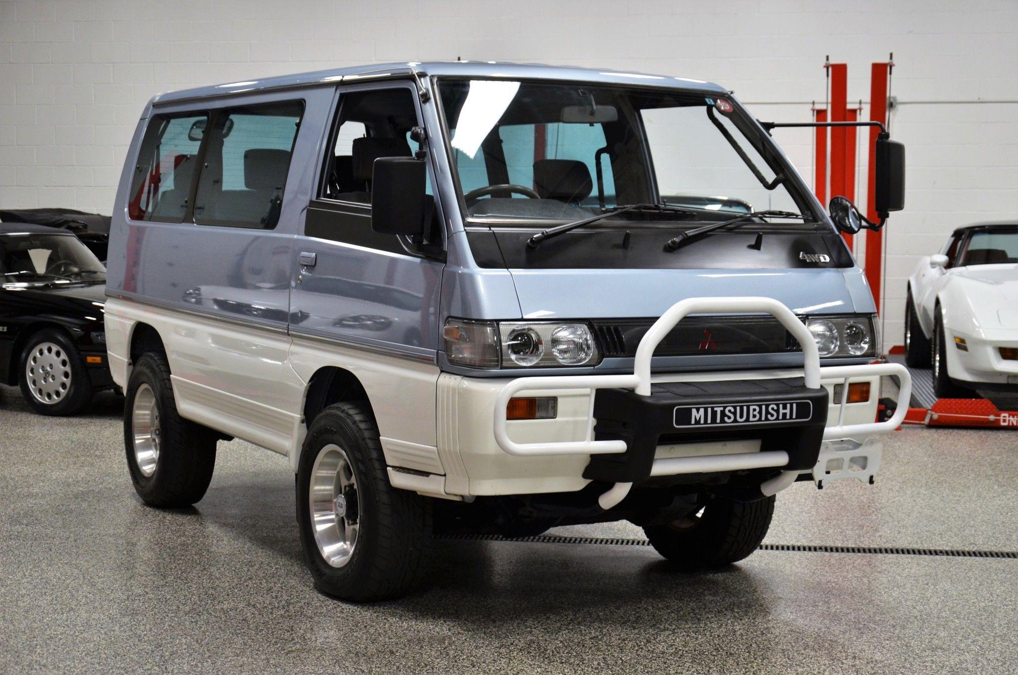 1991 Mitsubishi Delica L300 Star Wagon Turbodiesel 4 4 5 Speed Mitsubishi Wagon 4x4