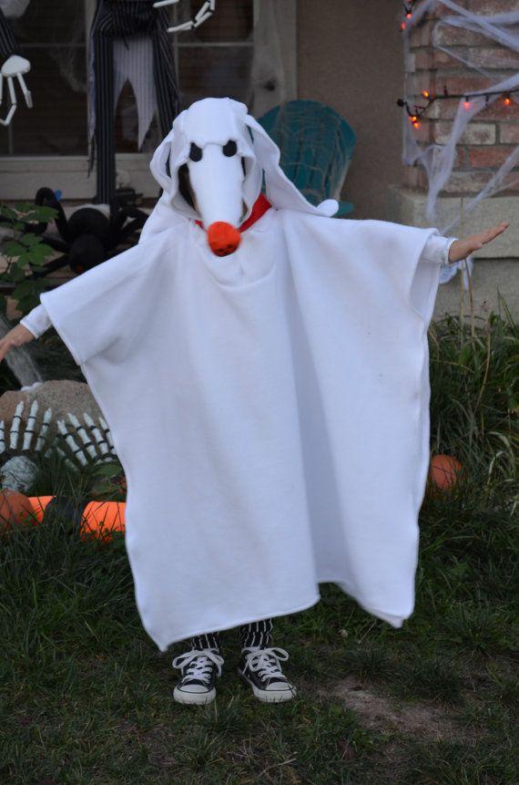 Nightmare Before Xmas Dog Zero costume, Halloween Zero Dog Costume ...