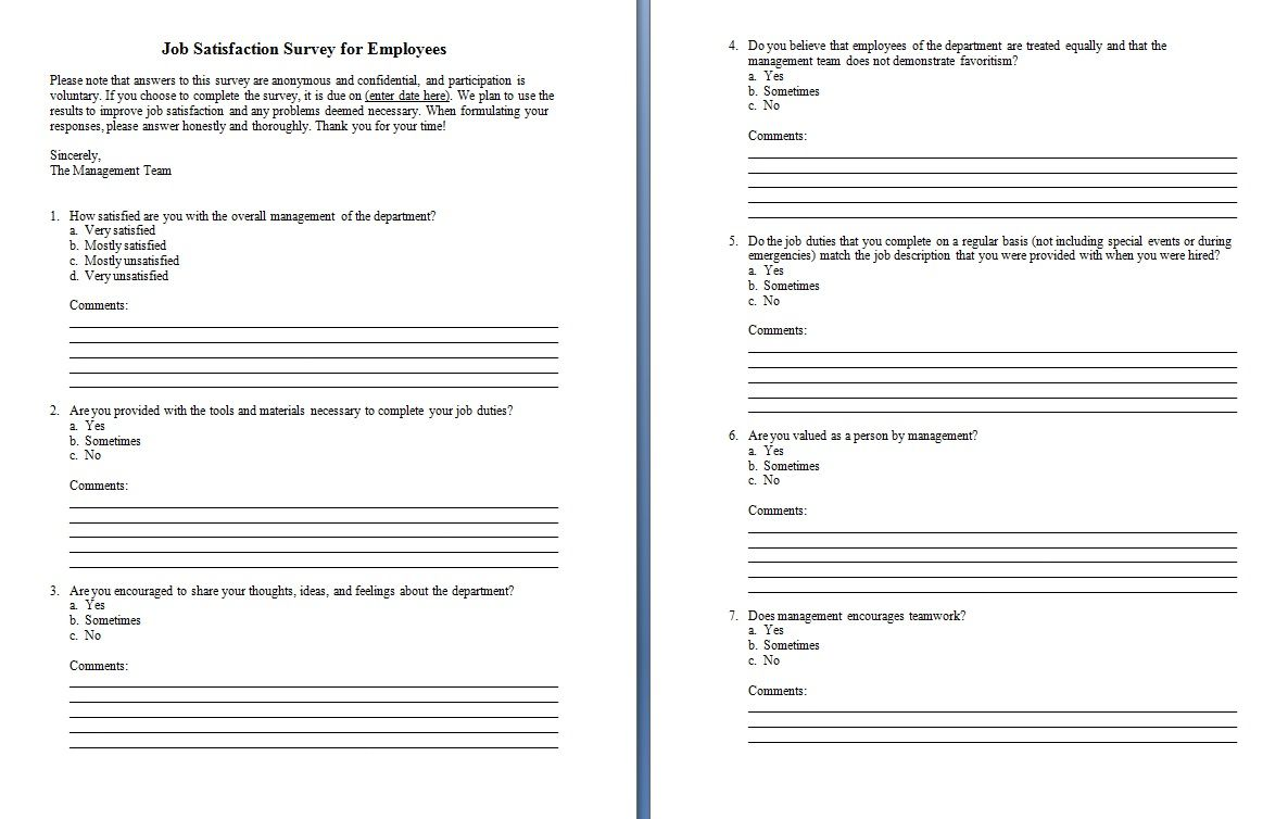 Ms Word Questionnaire Template from i.pinimg.com