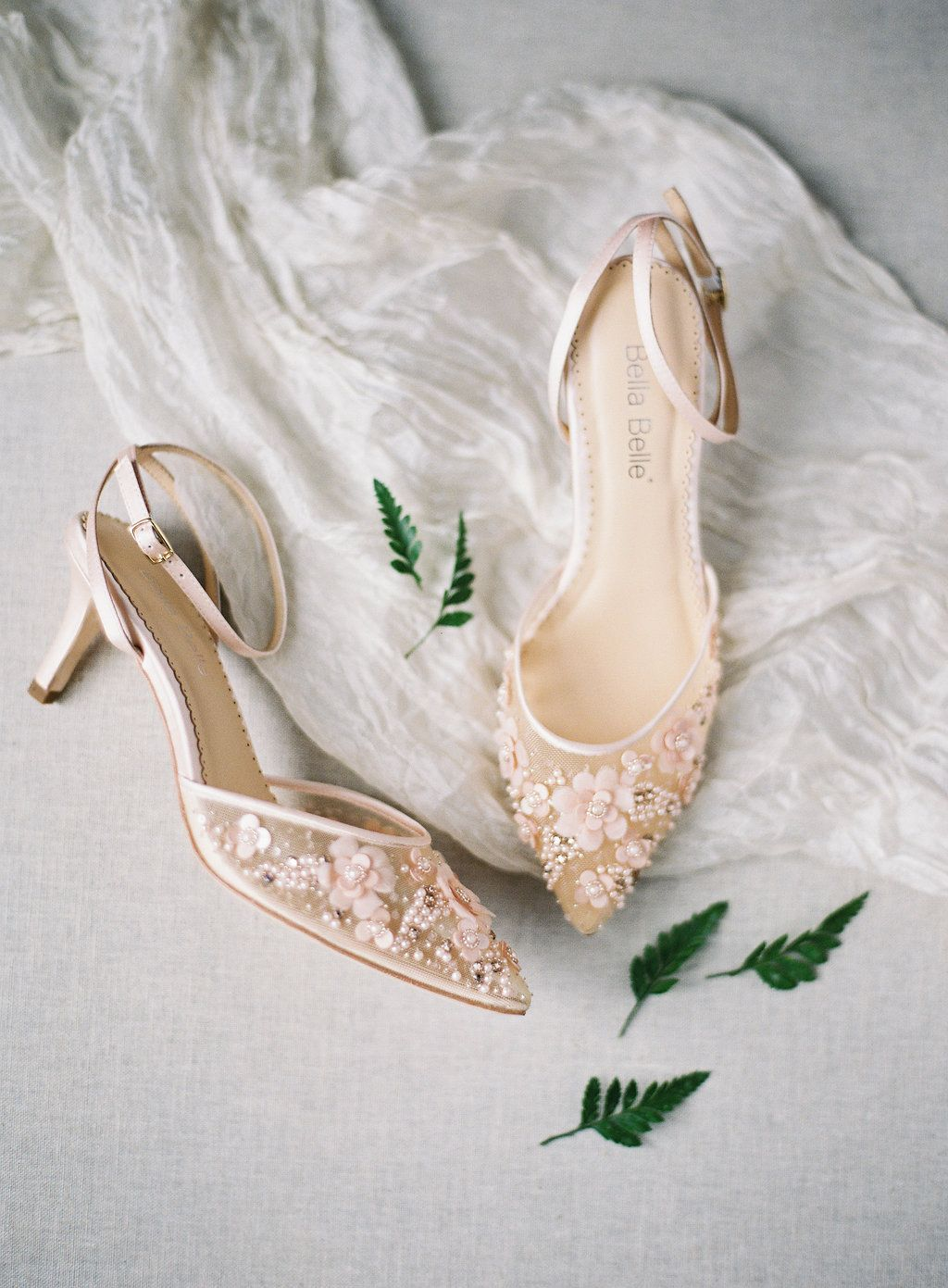 Low Heel Pearl Wedding Evening Shoes Blush Wedding Shoes Pearl Wedding Shoes Wedding Shoes Low Heel