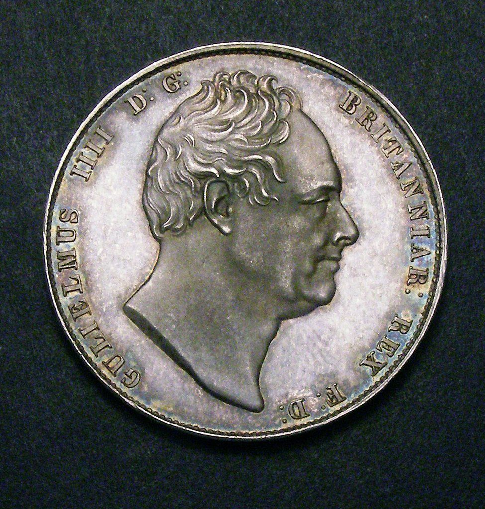 Halfcrown William IV 1831 Coin grading, Coins for sale