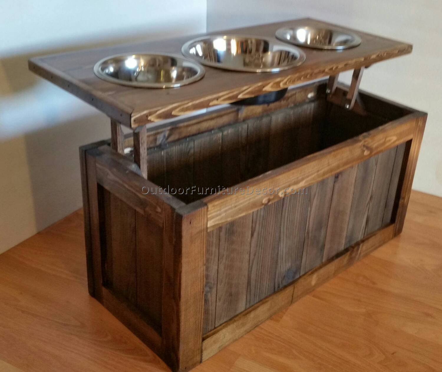 Decorative Dog Food Storage Containers