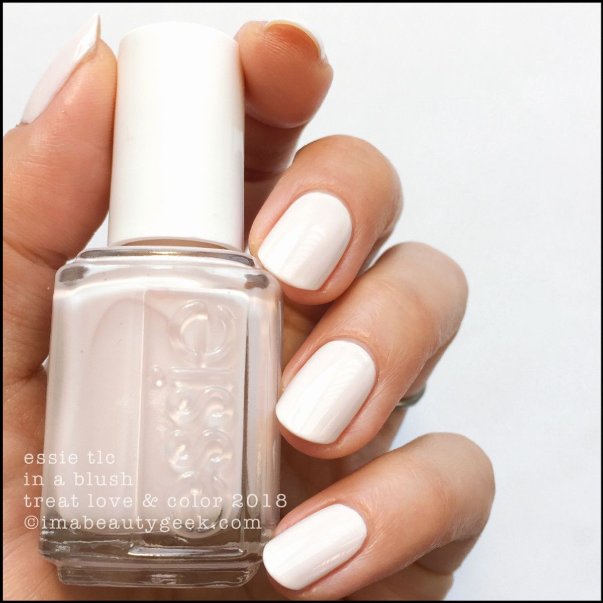 ESSIE TREAT LOVE & COLOR 2018 | Swatch, Top coat and Nail nail