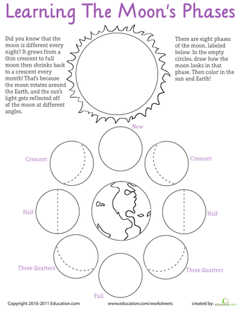 5th Grade Science Worksheets Solar System - 1000 images ...
