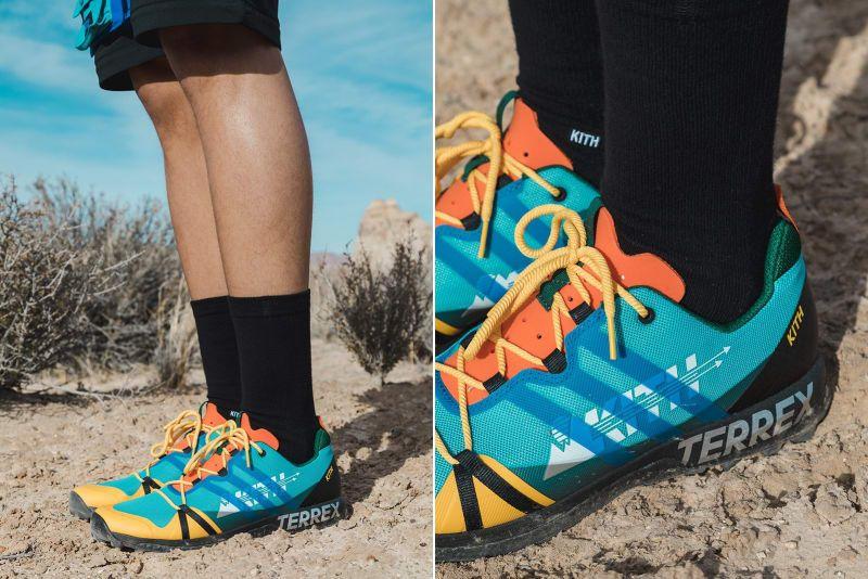c9e15d91 le Kith X Adidas Terrex Agravic GTX | Slajserice | Running shoes ...