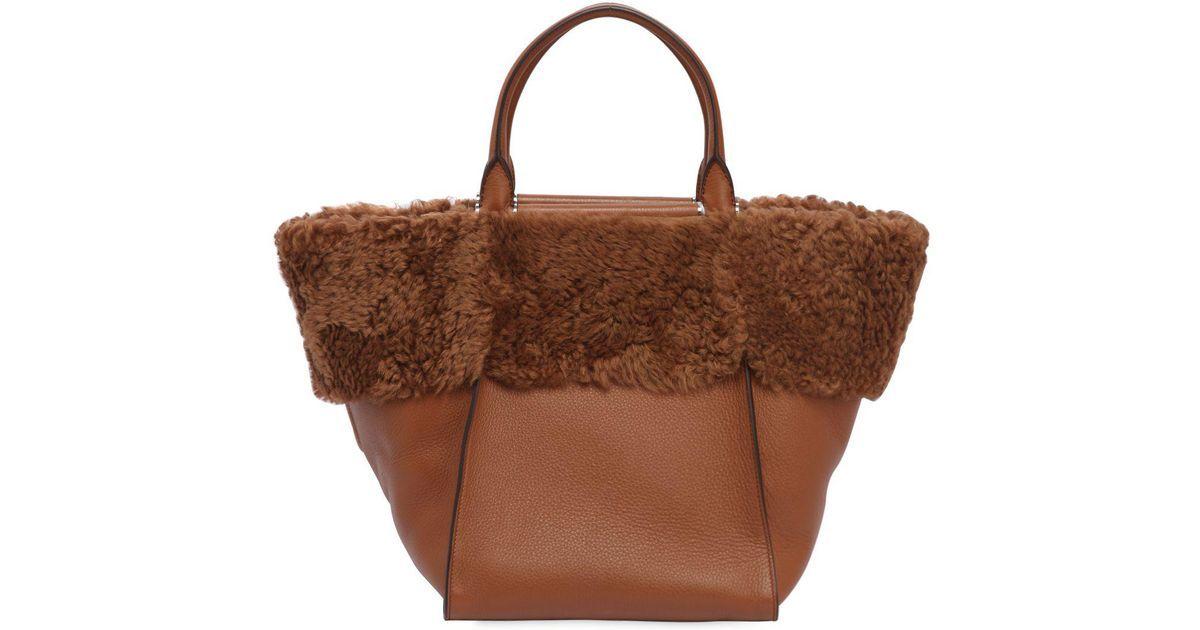 Afbeeldingsresultaat voor Shearling bags