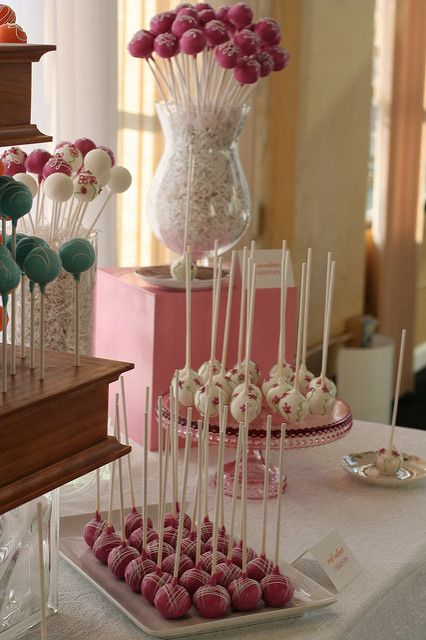 pink cake pop display in 2018 cake pops pinterest cake pops