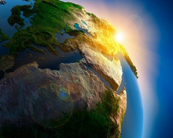 Beautiful Planet Earth Sunrise Background HD Wallpapers