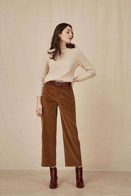 15 Pantalones De Pana De Mujer Que Vas A Querer Nomad Bubbles Pantalones De Pana Pantalones De Moda Pantalones