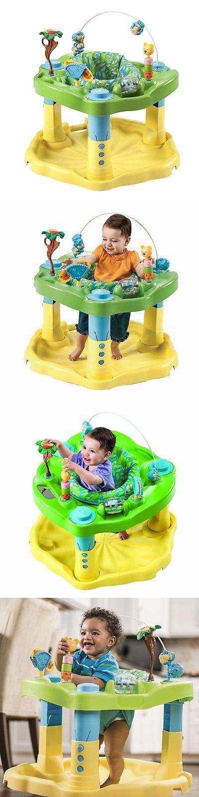 0bdb303cc Exersaucer Baby Bouncer Jumper Learning Activity Zoo Center Boy ...