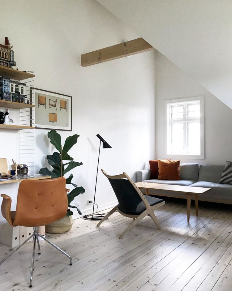 The Inspiring Norwegian Home Of A Danish Design Hunter In 2020 Norwegian House Danish Design Danish Furniture Design