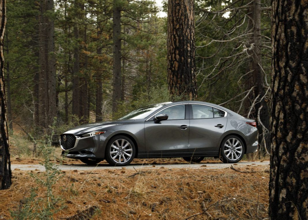 2019 Mazda3 Sedan Review Back To Basics Tractionlife Com In 2020 Sedan Mazda 3 Mazda 3 Sedan