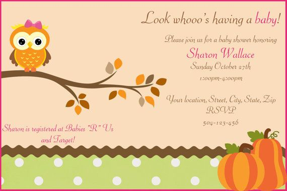 Hey, I found this really awesome Etsy listing at http://www.etsy.com/listing/163724881/owl-baby-shower-fall-themed-digital