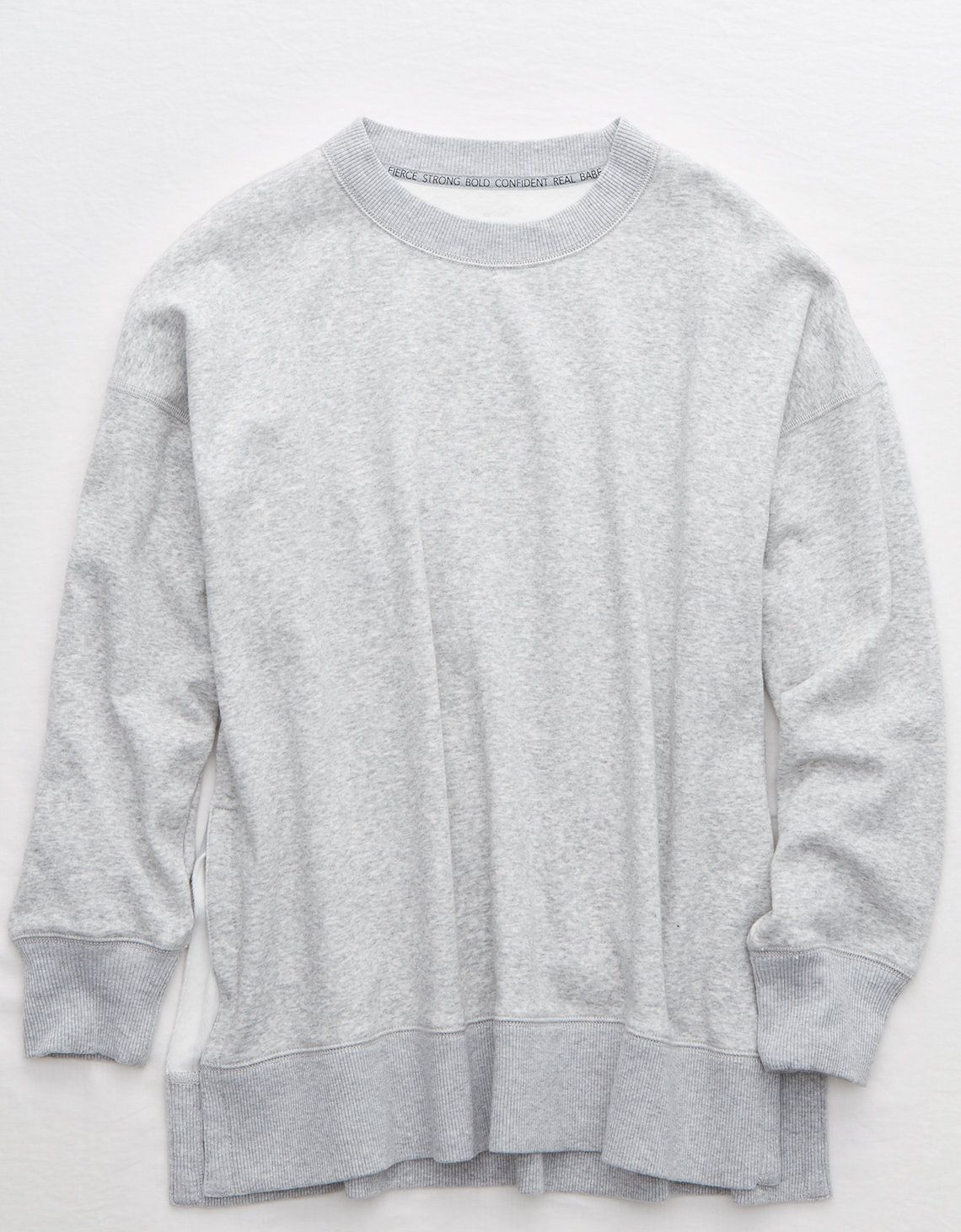 Aerie Oversized Coziest Desert Sweatshirt Mens Outfitters Sweatshirts Sweatshirts Women [ 1462 x 1140 Pixel ]