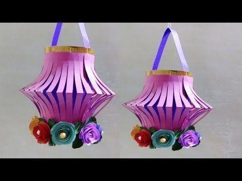 DIY Paper Lantern For Diwali | Diwali Home Decore Idea | Easy Paper Craf... #diwalidecorations DIY Paper Lantern For Diwali | Diwali Home Decore Idea | Easy Paper Craf... #diwalidecorationsathome