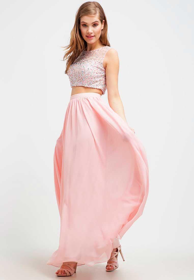 vestidos-rosa-partido-joven | Dresses / Fashion | Pinterest ...