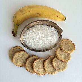 Banaan kokoskoekjes (2 ingrediënten!) | Wat eet je dan wel? | Bloglovin'