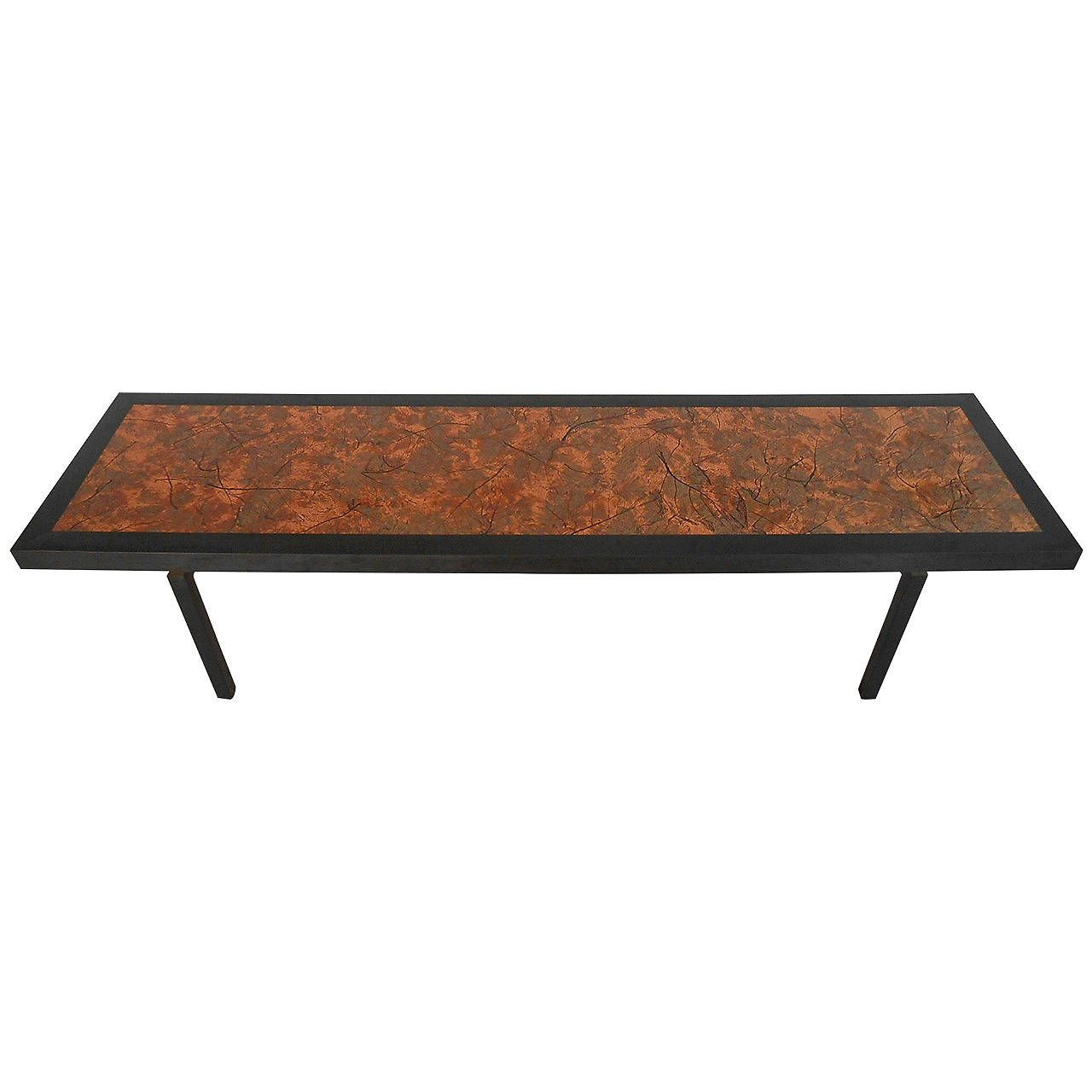 Ethan Allen Copper Top Coffee Table: Pin By Horseman Antiques On Stunning Mid-Century Modern