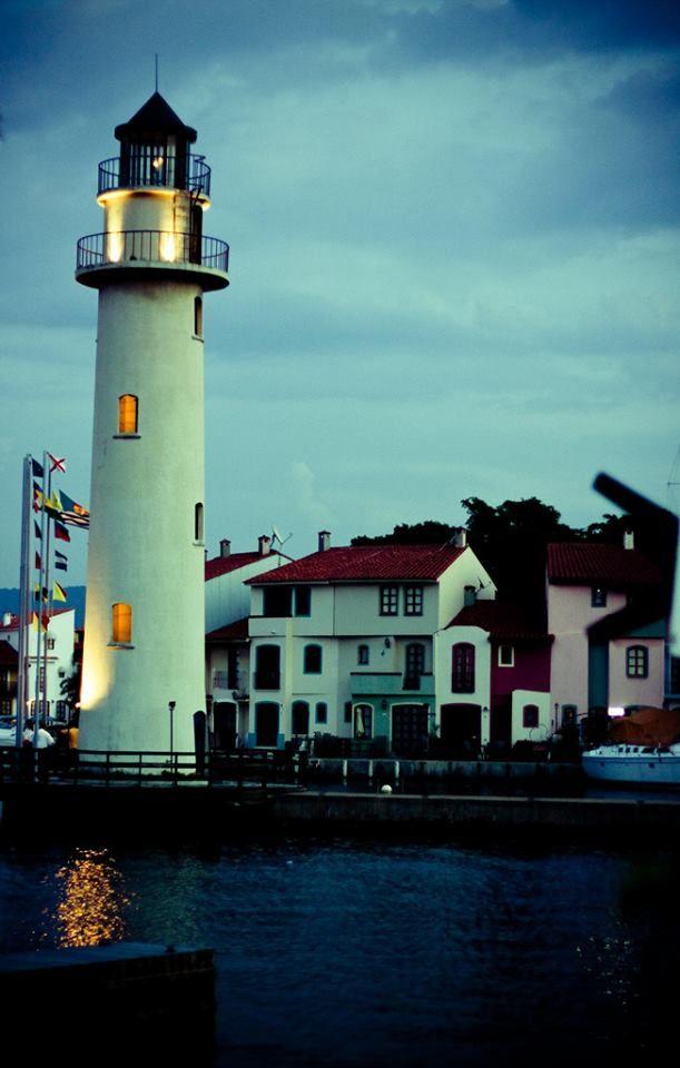Pueblo Viejo Lighthouse Puerto La Cruz Venezuela Vuurtoren Vuurtorens Schepen