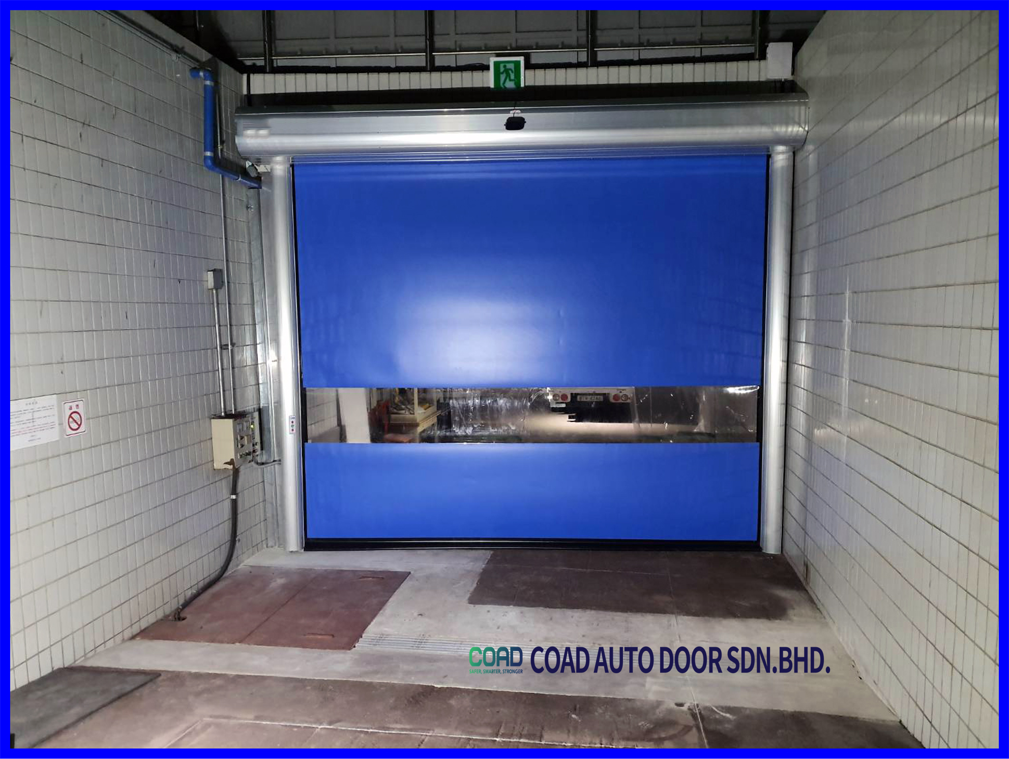 Save Up Space More Clean With Coad High Speed Door High Speed Automatic Door Doors