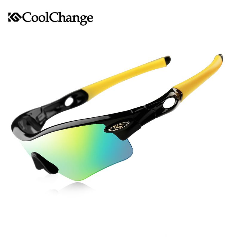f48cc873a9 CoolChange Cycling Glasses Polarized Sunglasses Road Bike Outdoor Sports  Goggles 5 Groups of Lenses Bicycle Eyewear Myopia Frame Review