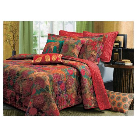 Found it at Wayfair - Jewel Quilt Sethttp://www.wayfair.com/daily-sales/p/Fall-Bedroom-Refresh-Jewel-Quilt-Set~GHF2178~E14175.html?refid=SBP.rBAZKFPnzkQywUVn3kqSAhBDpO4rcEZ_na-5cZ4o6EA