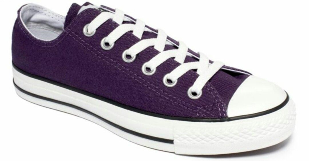acb20c7841eb Plum colored Chuck Taylor s. Plum colored Chuck Taylor s Purple Converse ...