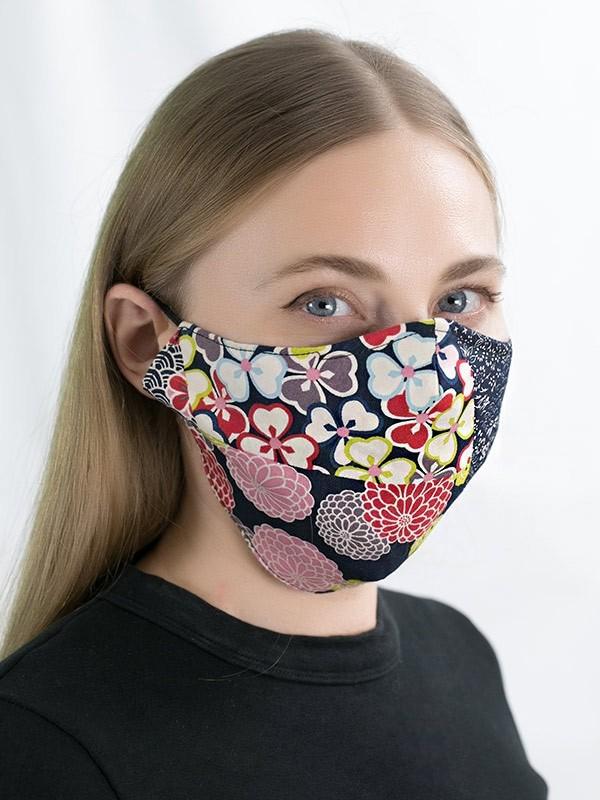 Pin On Mask Fabric Handmade