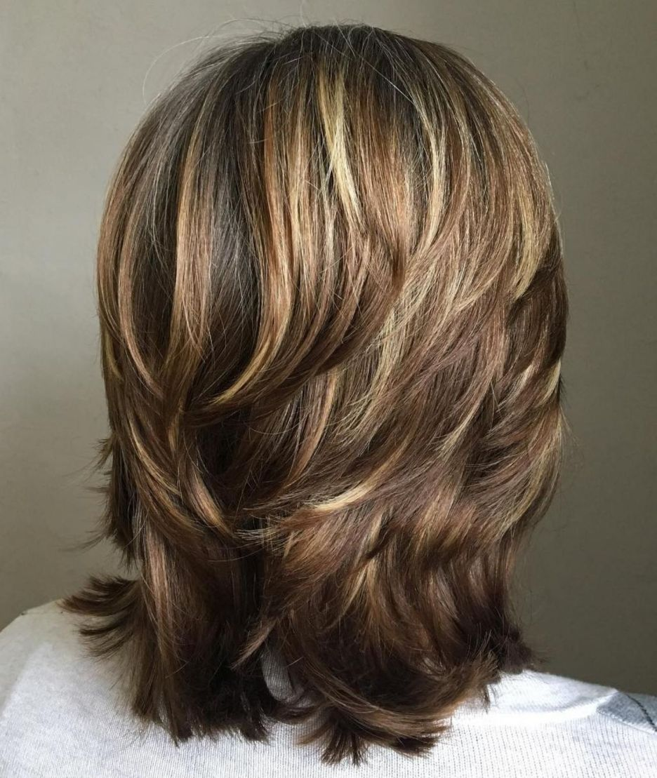 70 Brightest Medium Layered Haircuts To Light You Up With Images Medium Layered Haircuts