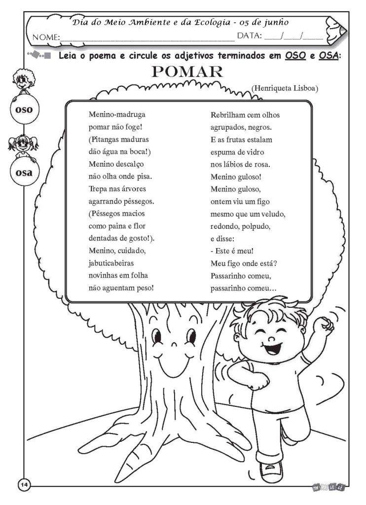 210 Atividades Meio Ambiente Para Educacao Infantil E Ensino