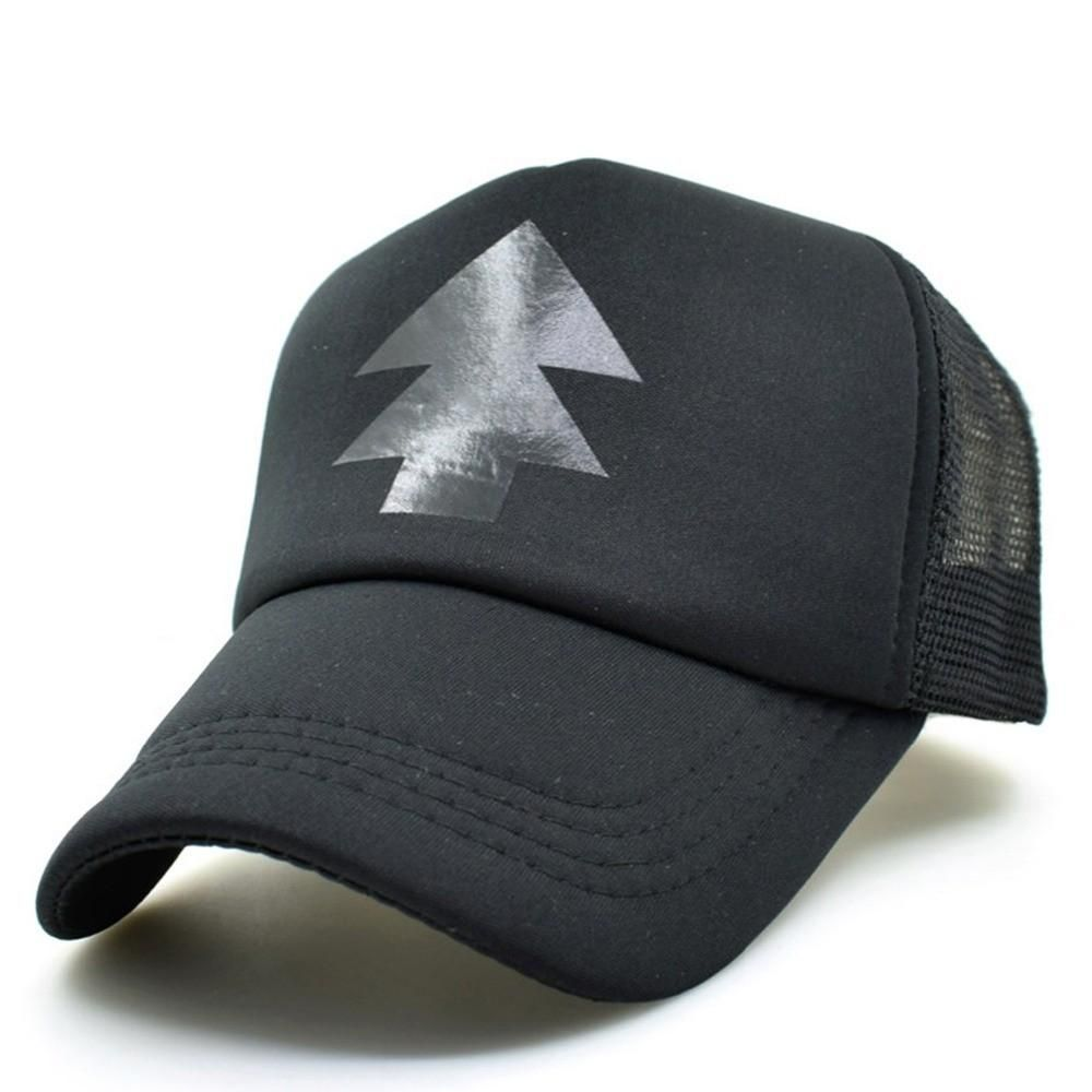 eb38ac2dc59 CLIMATE Gravity Falls Black Dipper Pines Summer Cool Caps Pines Bill Mabel  Cool Cosplay Baseball Mesh Net Trucker Caps Hat Free Shipping