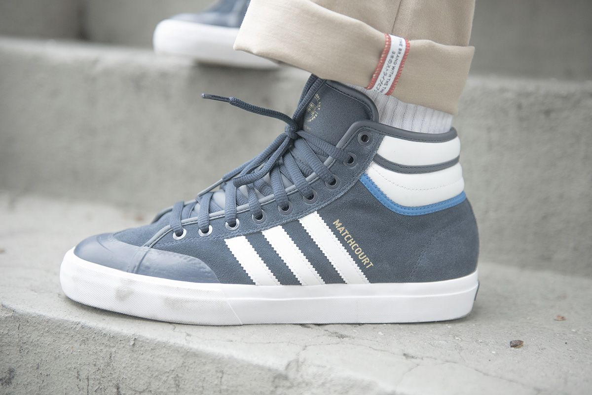 reputable site 90ce7 4c1c3 adidas Skateboarding Matchcourt High RX2  Top Ten  Pack - EU Kicks  Sneaker  Magazine