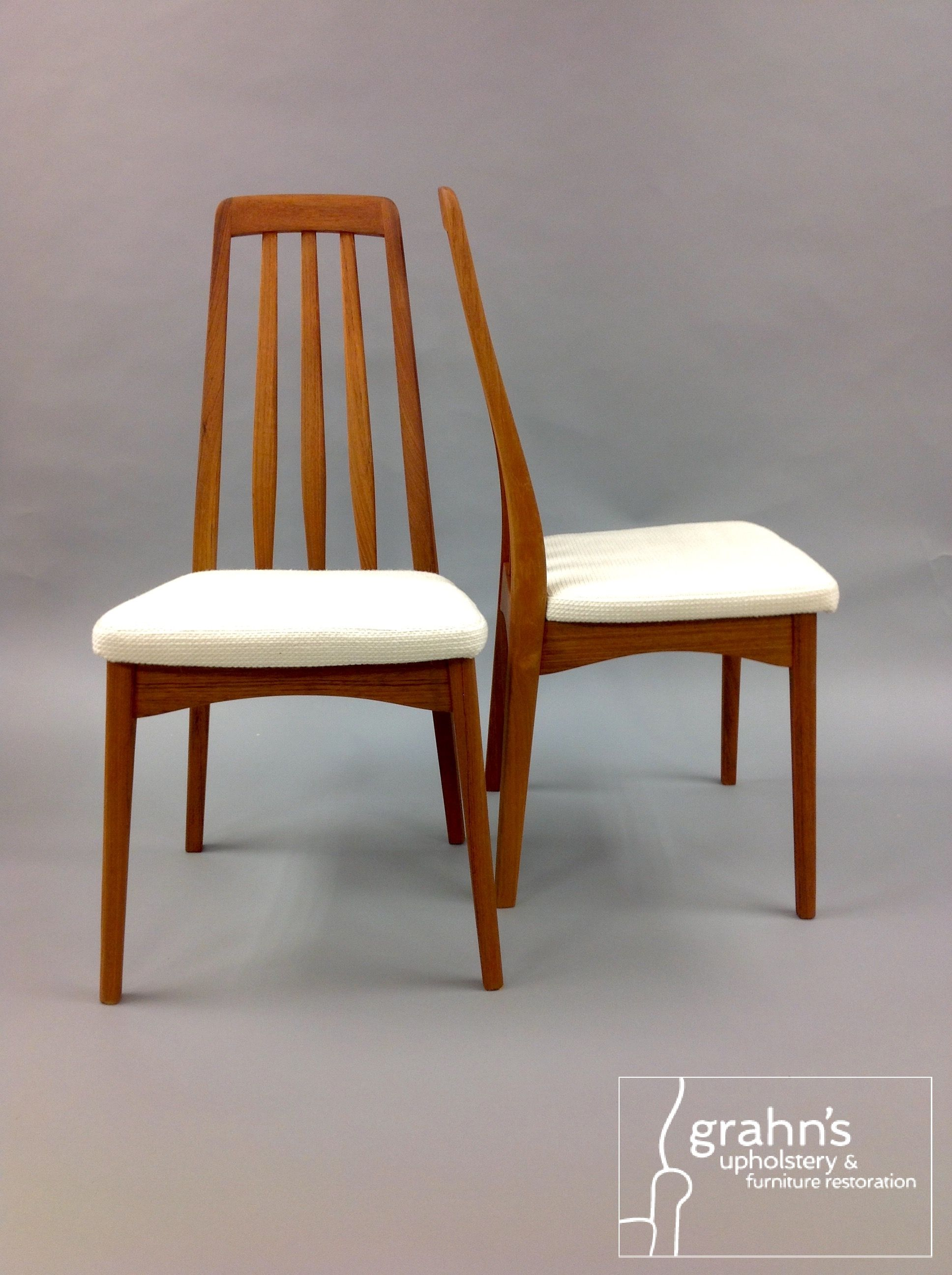 Knoll Cato a perfect fabric for Danish modern dining chairs