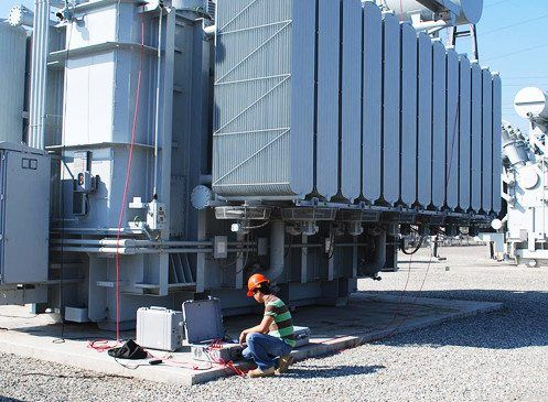 Resistance measuring on 200MVA transformer Testing and