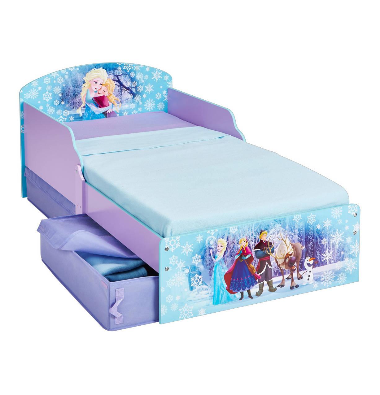 Kinderbett Disney Die Eiskonigin Mdf Mit Schubladen