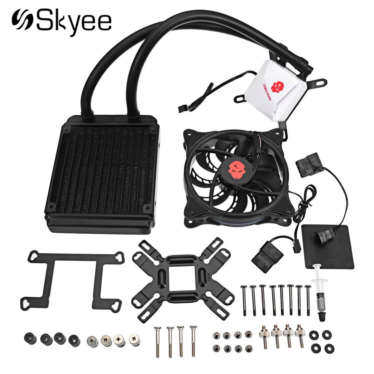 Diy Pc Rgb Led Water Cooling Fan Kit With Water Row Cpu Water