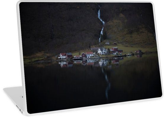 Laptop Skins River that vanishes by josemanuelerre