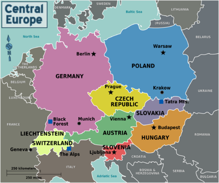Four Countries In Harmony Mo S Blog Pinterest Central Europe