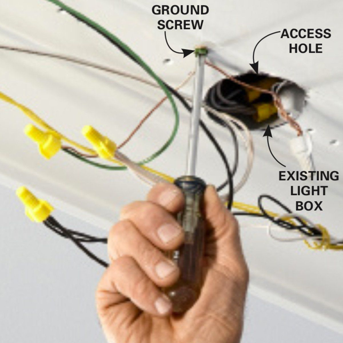 hight resolution of how to wire a finished garage family handyman the family handyman
