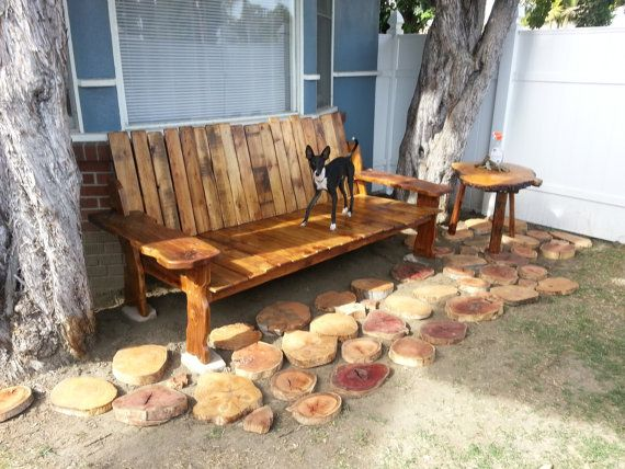 Hey, I found this really awesome Etsy listing at https://www.etsy.com/listing/188515550/hand-made-reclaimed-barnwood-bench