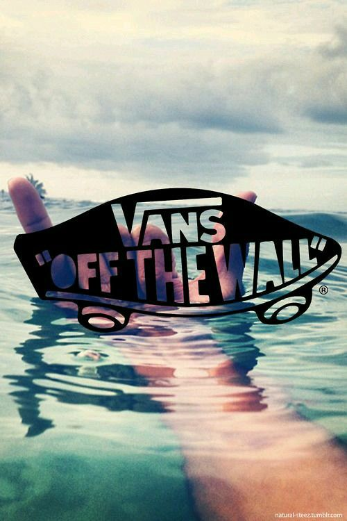 Many White Vans Logo In Black Background HD Wallpapers IPhone 4