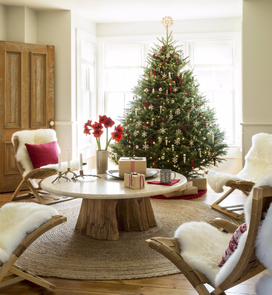 Photo of 20+ Merry Ways to Decorate Your Living Room for Christmas #tannen