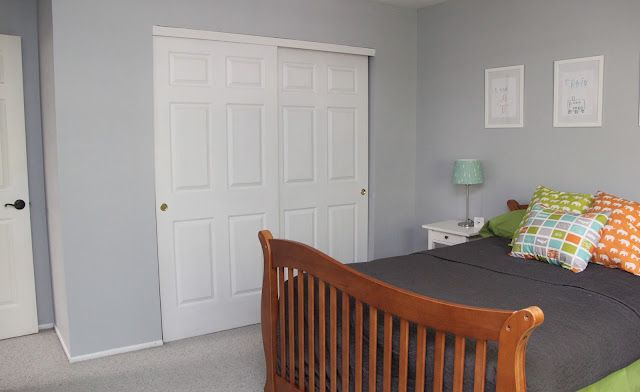 Lazy Gray by Sherwin-Williams A good medium gray- not too ...