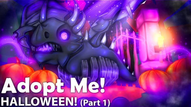 Halloween Adopt Me Roblox Adoption Halloween Update Shadow Dragon