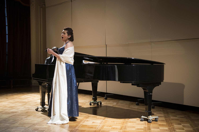 Paulina Gonzáles, soprano. Foto: Patricio Melo.