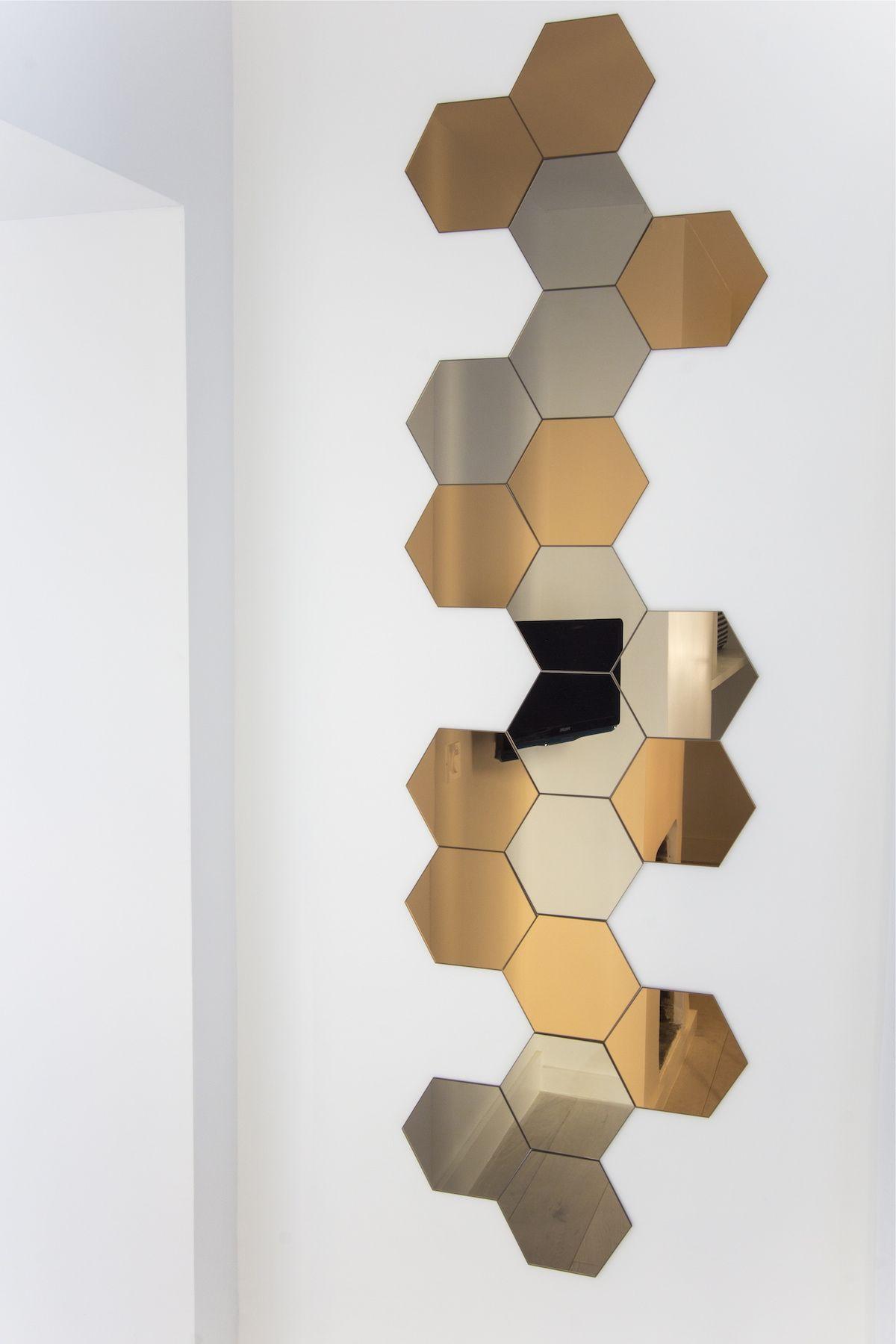 Miroir hexagonal - Miroirs hexagonaux - Hexagonal mirrors ...